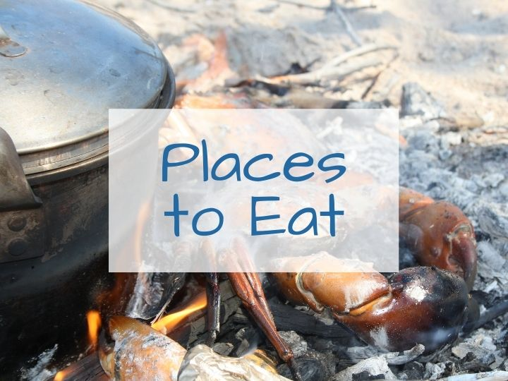 Places to Eat on the Dampier Peninsula