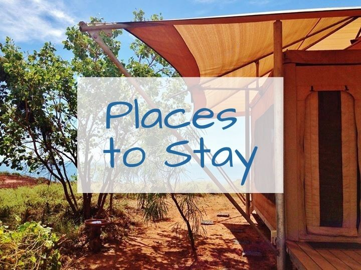Places to Stay on the Dampier Peninsula